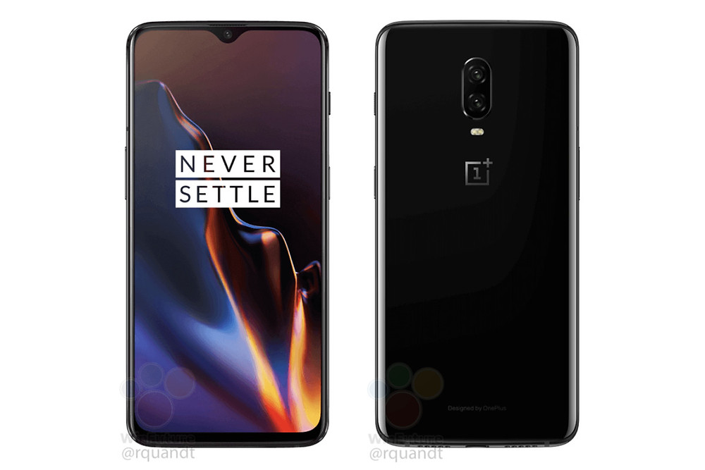 OnePlus 6T leaks with a tiny notch - Read More from The Verge