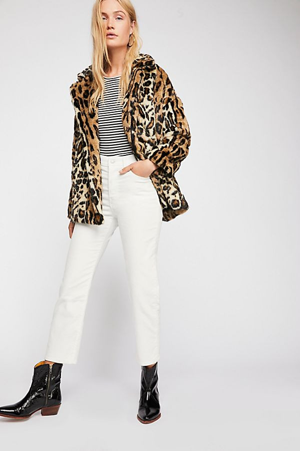 Kate Leopard Coat $268