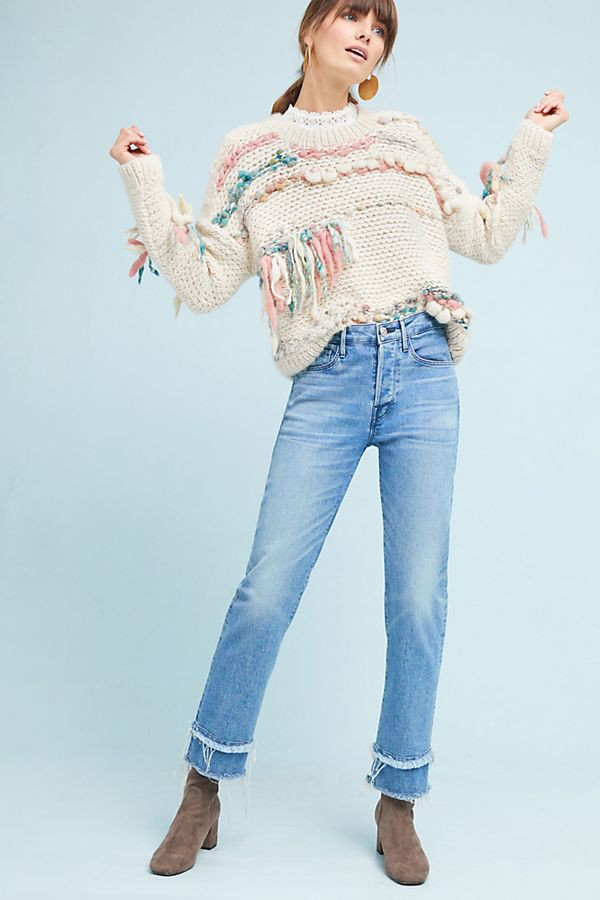 Sunwoven Harper Hand-Knit Pullover $399.95