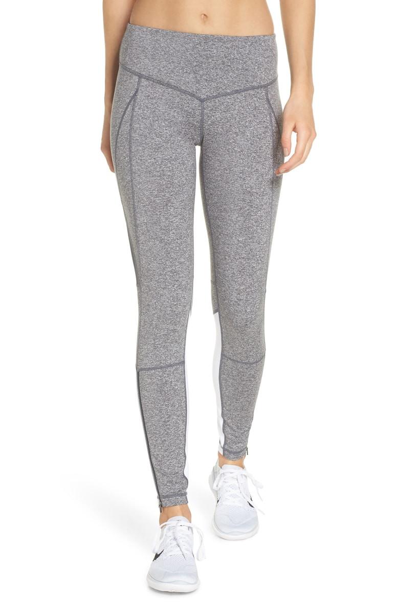 Zella Gossip Ankle Zip Leggings $49.90