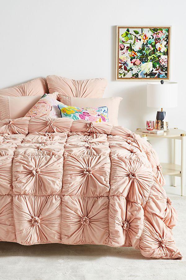 Lazybones Organic Rosette Quilt $258-$298