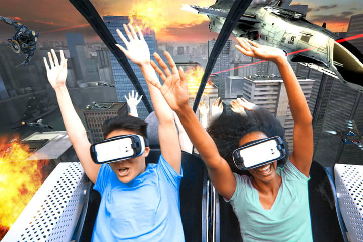 China's new sci-fi amusement park is powered entirely by virtual reality rides - Read More from Digital Trends