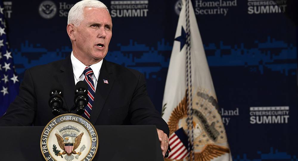 Pence: White House prepping cyber strategy to counter threat Obama ignored - Read More from Politico