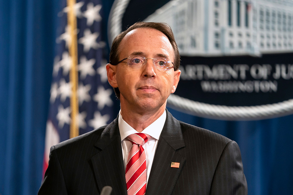 Trump says he prefers to keep Deputy Attorney General Rosenstein in his job - Read More from Reuters