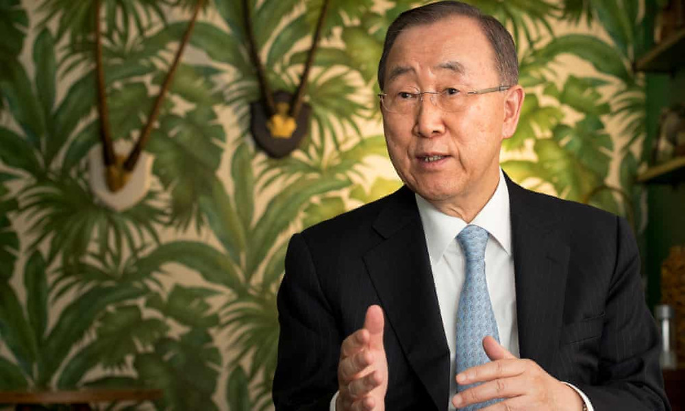 Ex-UN chief Ban Ki-moon says US healthcare system is 'morally wrong' - Read More from The Guardian