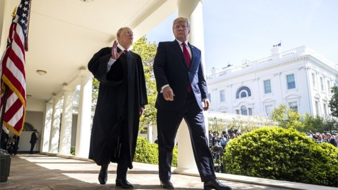 Trump begins Supreme Court search to replace Anthony Kennedy - Read More from BBC News