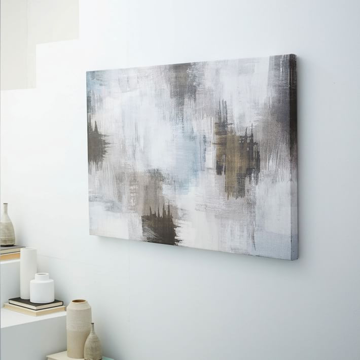 Canvas Print - Abstract Smudges $174