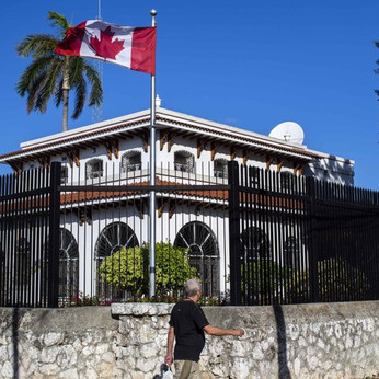 Canada reducing Canadian staff at Cuba embassy by half