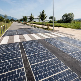 Solar panels replaced tarmac on a motorway. Here are the results.