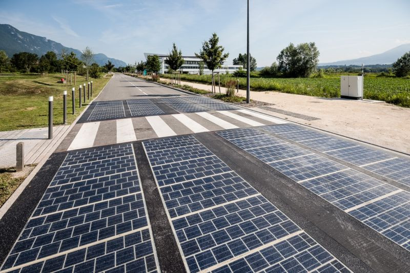 Solar panels replaced tarmac on a motorway. Here are the results. - Read More from Ars Technica