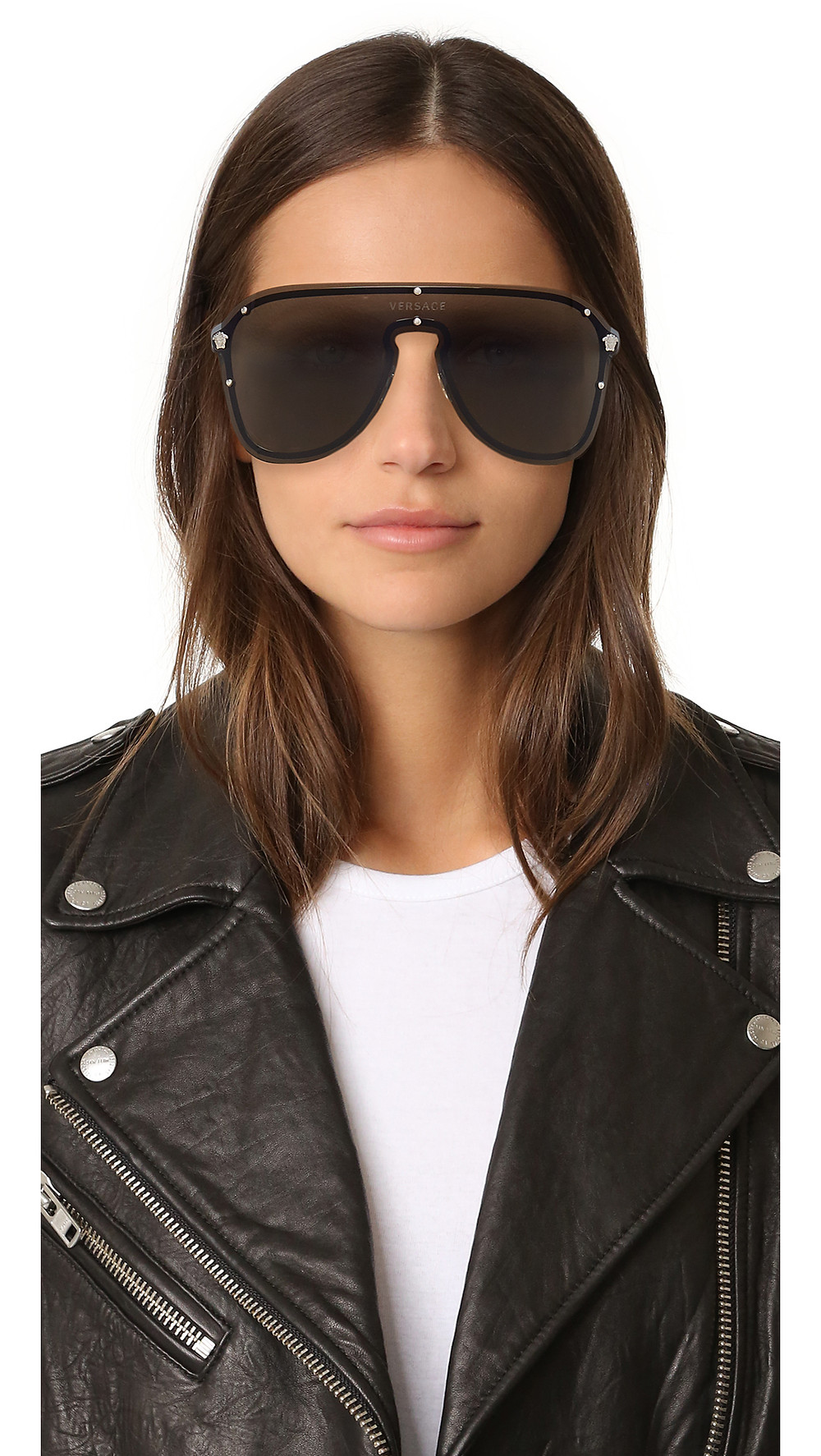 Versace Shield Sunglasses $290