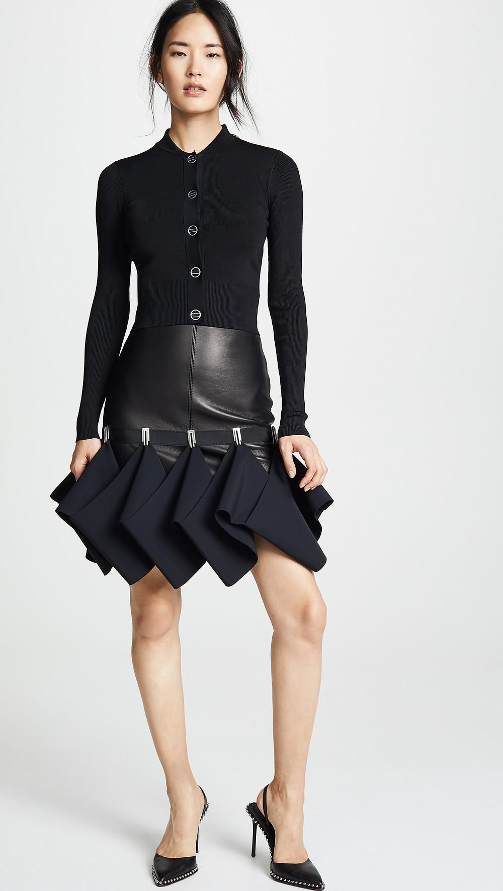 Dion Lee Leather Hook Miniskirt $1,690