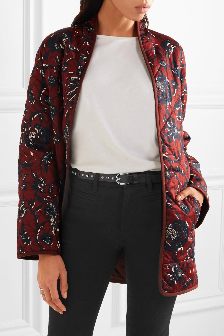 Isabel Marant Kerria embellished leather belt now $143