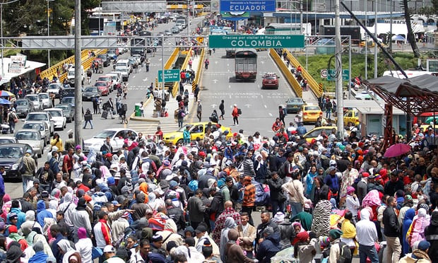Fleeing Venezuelans face suspicion and hostility as migration crisis worsens - Read More from The Guardian