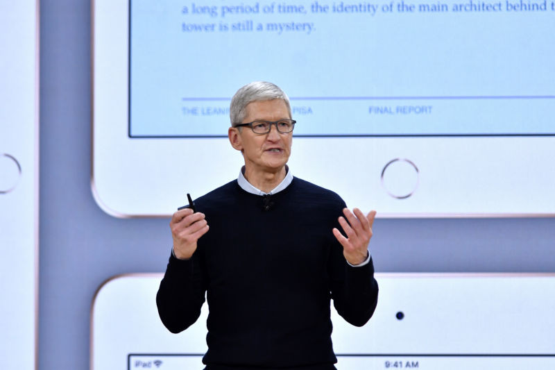 "Tim Cook on merging macOS and iOS: ""I don't think that's what users want"" - Read More from Ars Technica"