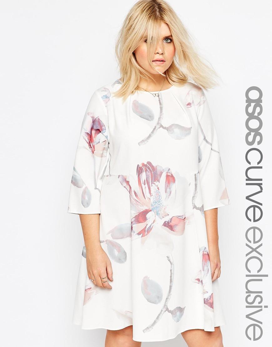 ASOS dress in floral print $72