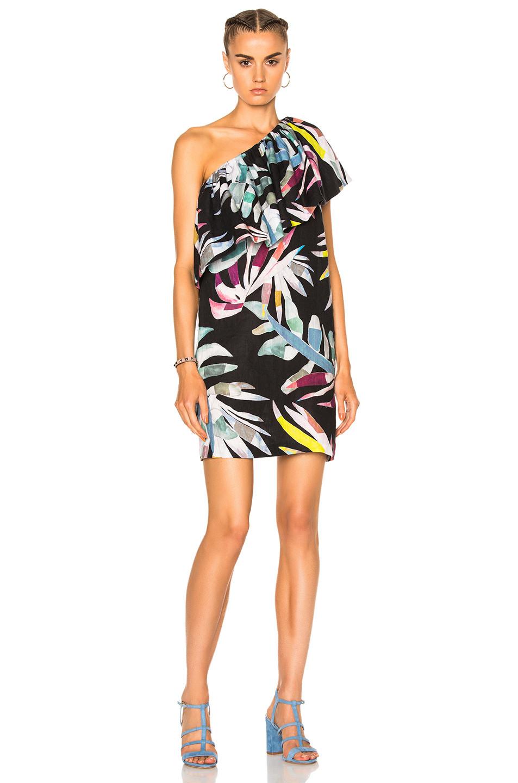 Mara Hoffman One Shoulder Mini Dress now $228