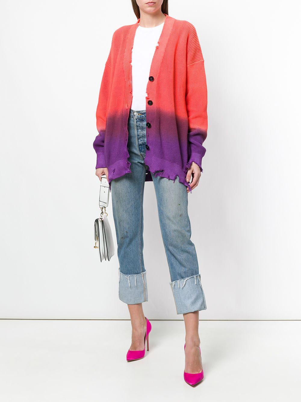 MSGM gradient oversized cardigan $686