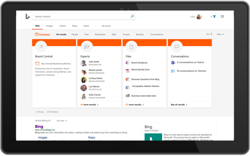 Microsoft unifying search across Bing, Office, and Windows - Read More from Ars Technica