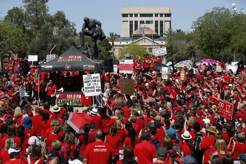 Striking Arizona teachers end walkout, salary increases set - Read More from Associated Press
