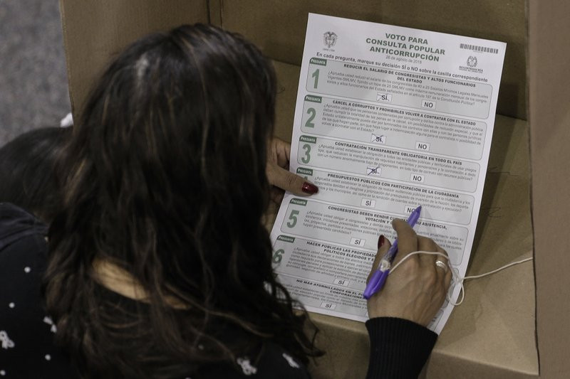 Colombia anti-corruption referendum comes up shy on votes - Read More from Associated Press