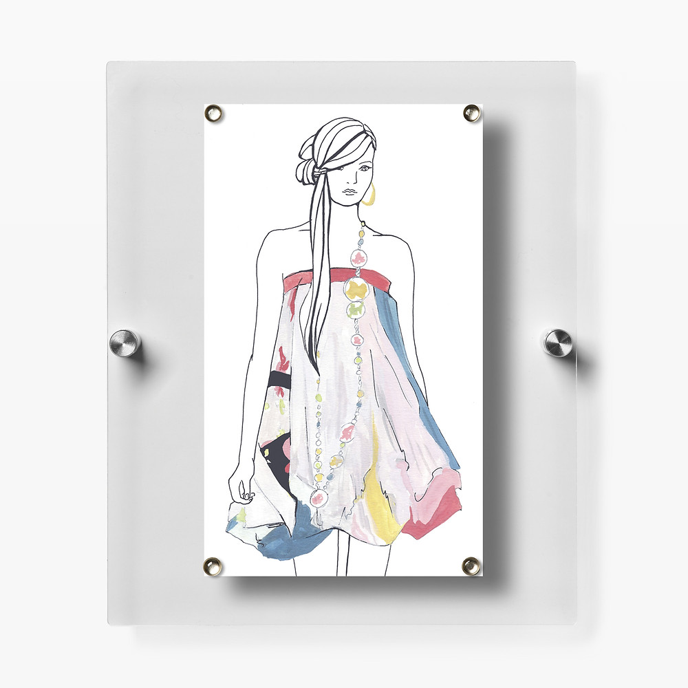 Framous Floating Picture Frame by Wexel Art-Sold at AllModern.com $42.99-Check out more Magnetic Frames & Prints at AllModern.com
