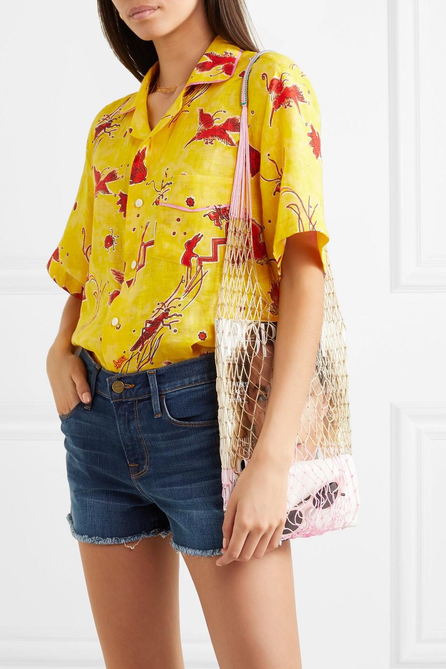 Sophie Anderson Macramé shoulder bag $255