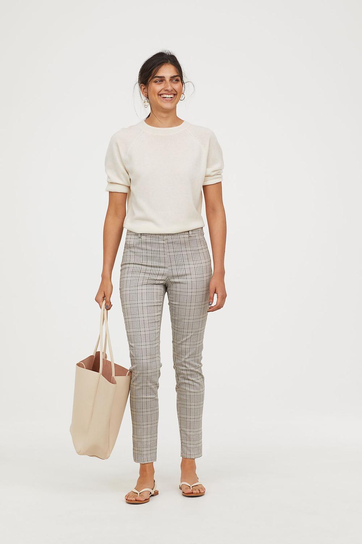 H&M Checked Slacks $14.99