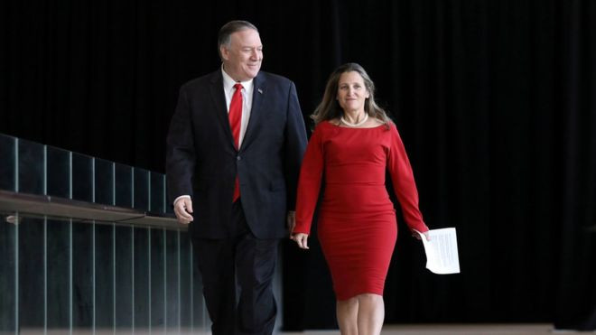 Huawei's Meng Wanzhou not a bargaining chip, says Pompeo - Read More from BBC News