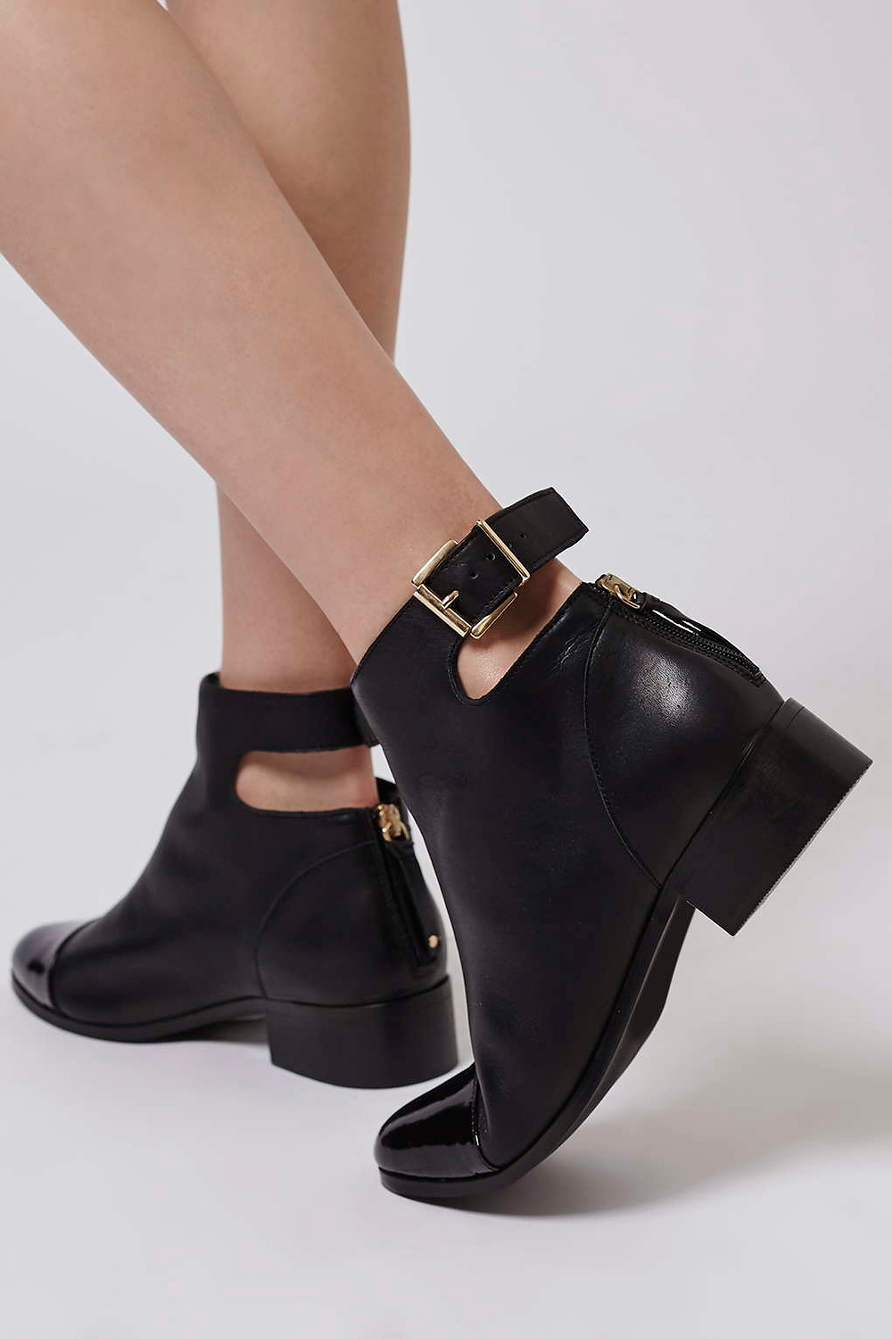 Topshop ACE back buckle boots-$140