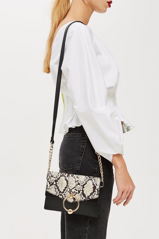 Selina Snake Crossbody Bag $48