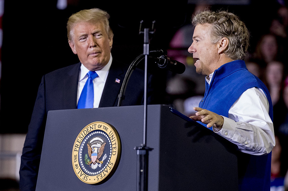 Rand Paul: Trump poised for draw down in Afghanistan, Syria pullout - Read More from Politico