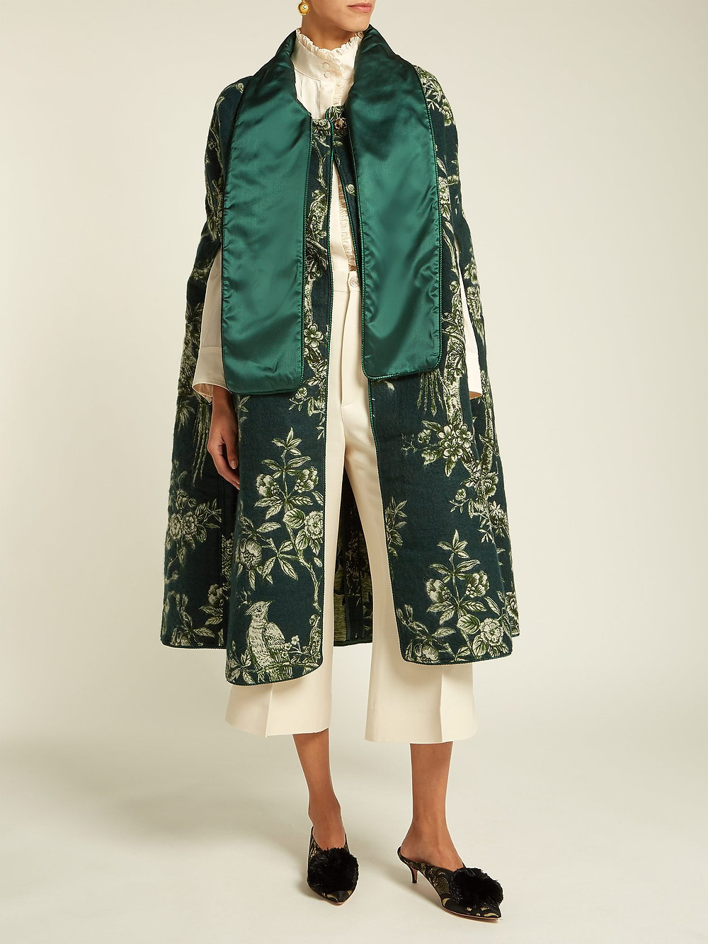 F.R.S - For Restless Sleepers  Kore Ramage jacquard cape $1,996