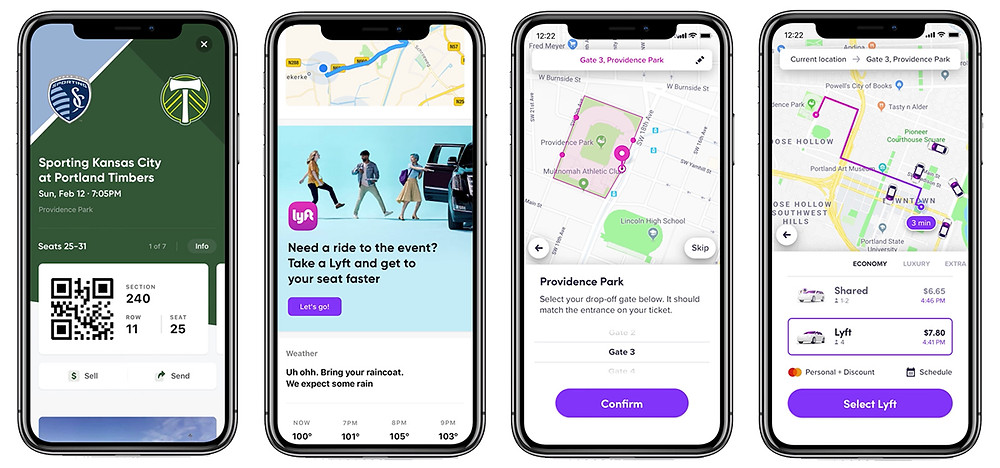 Lyft enables sloth with seat-specific stadium drop-offs - Read More from Engadget