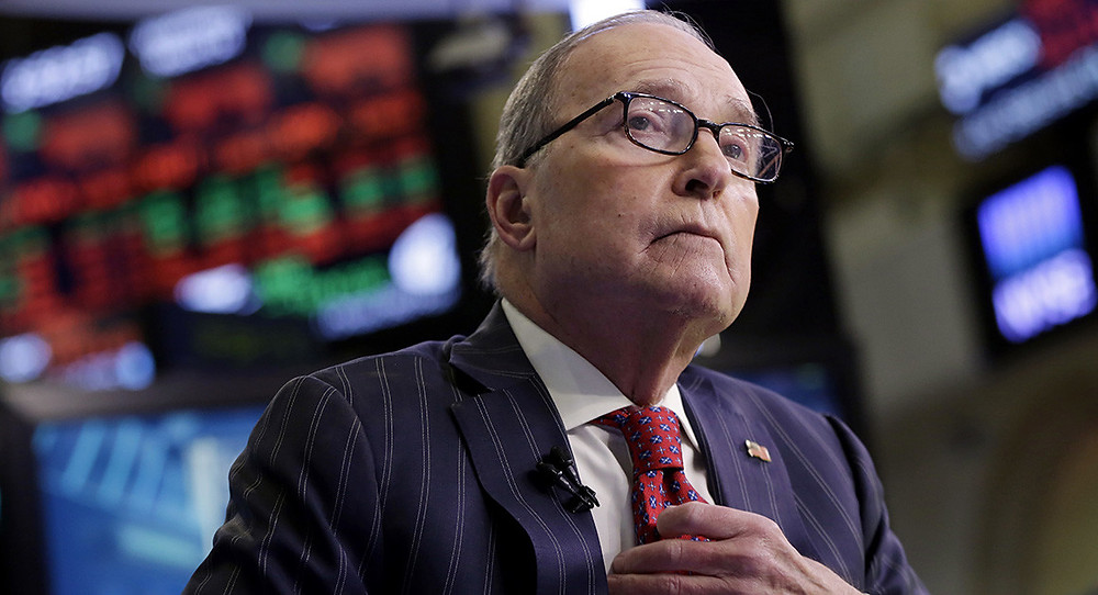 Kudlow defends tariffs on China, wants to avoid EU duties - Read More from Politico
