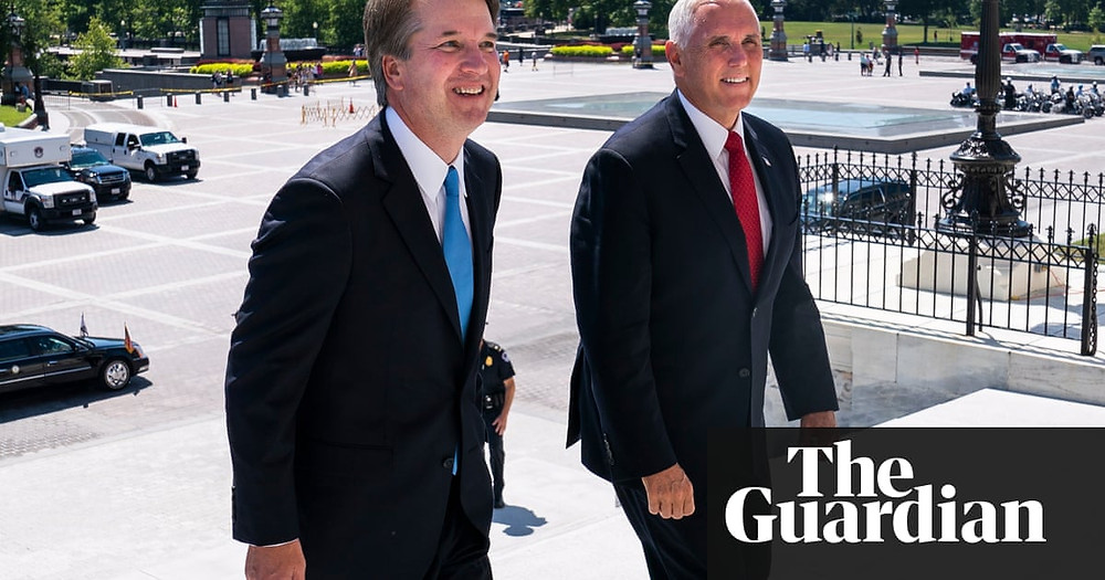 Pence acknowledges tie-breaker may be needed to confirm Kavanaugh - Read More from The Guardian