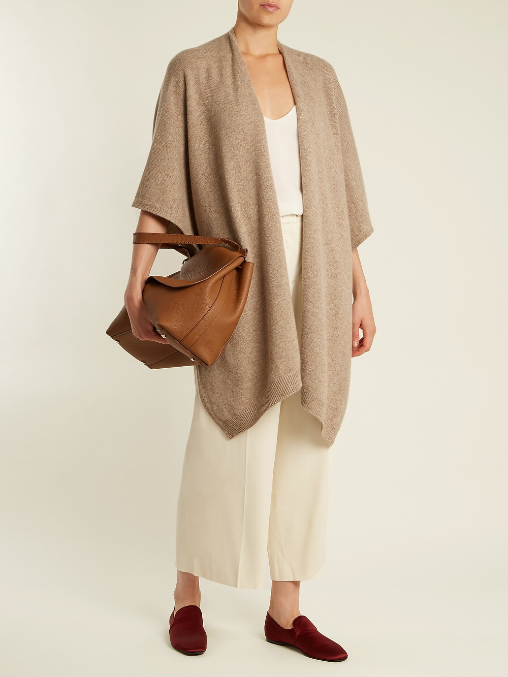 The Row Hern cashmere cape $1,550