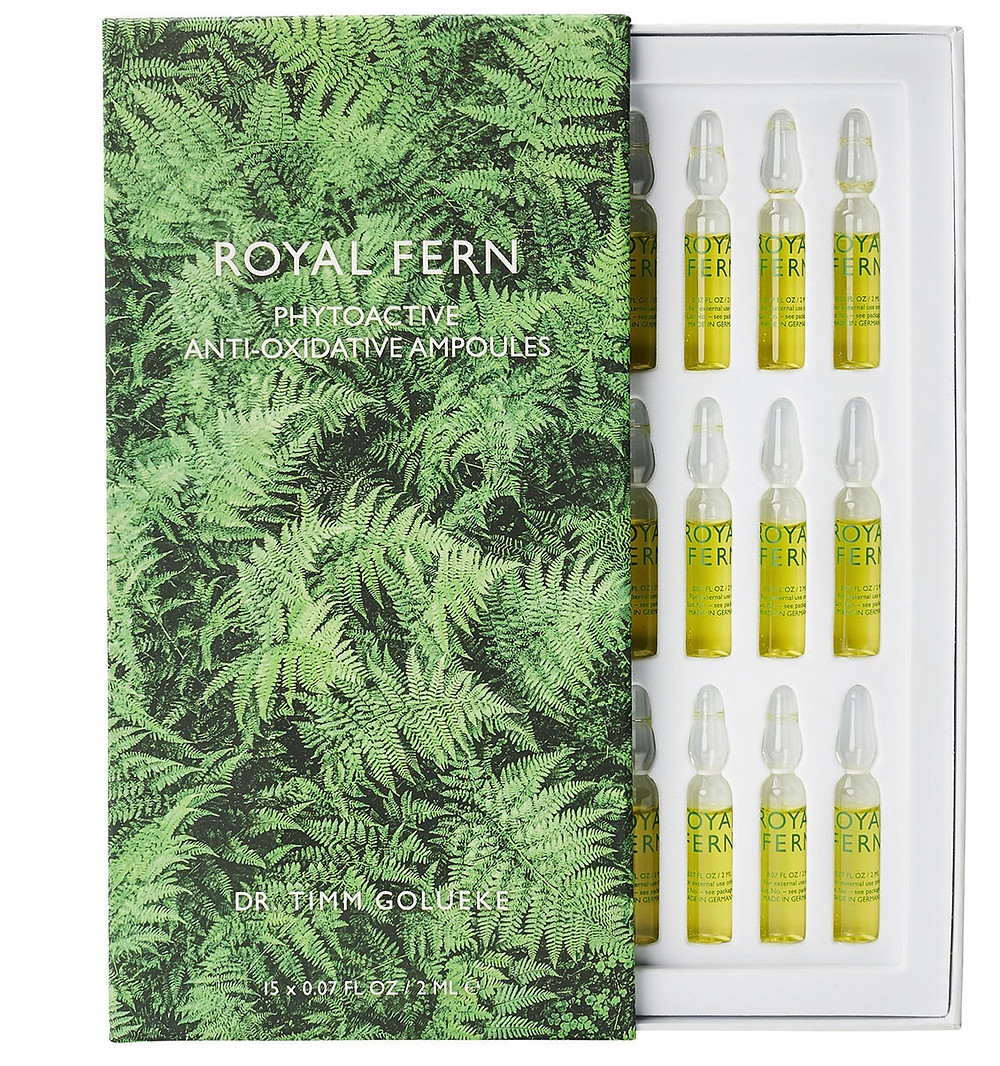 Royal Fern Anti Oxidative Ampoules, 15 x 0.06 oz./ 2 mL $195