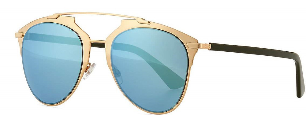 """Dior """"Dior Reflected"""" Two-Tone Aviator Sunglasses now $292 with an extra 20% you can get them for $233.60"""