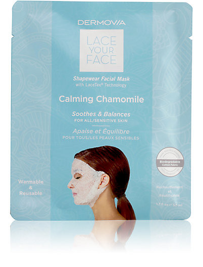 DERMOVIA Calming Chamomile Lace Your Face Mask $15