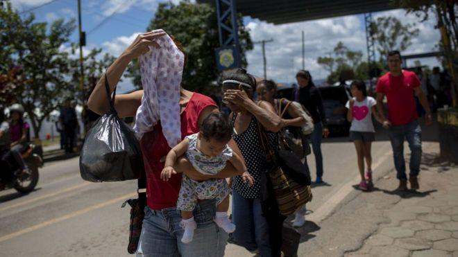 Venezuela crisis: More migrants cross into Brazil despite attacks - Read More from BBC News