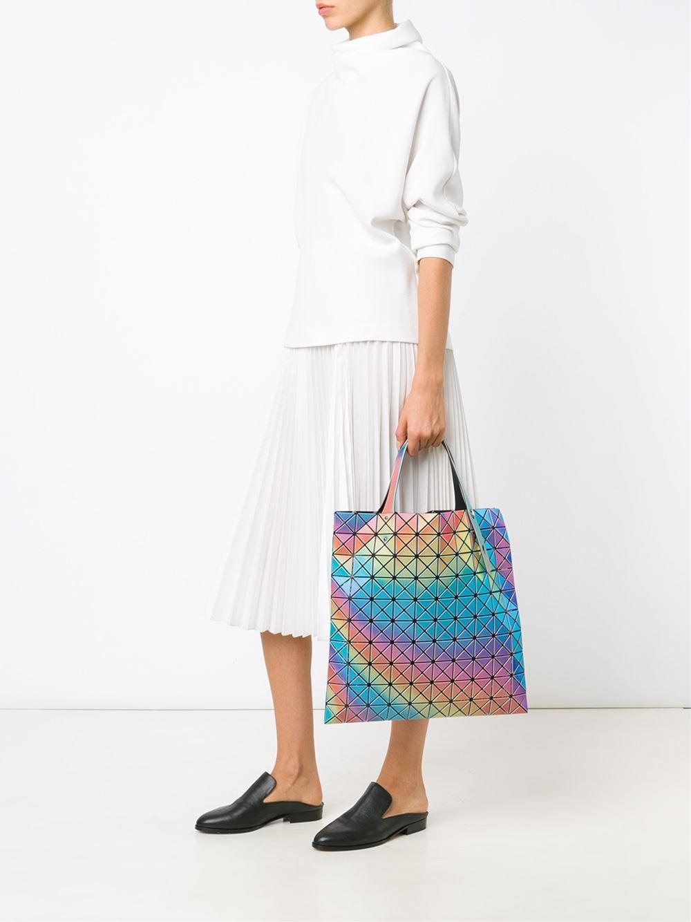Issey Miyake rainbow prism tote $731.79