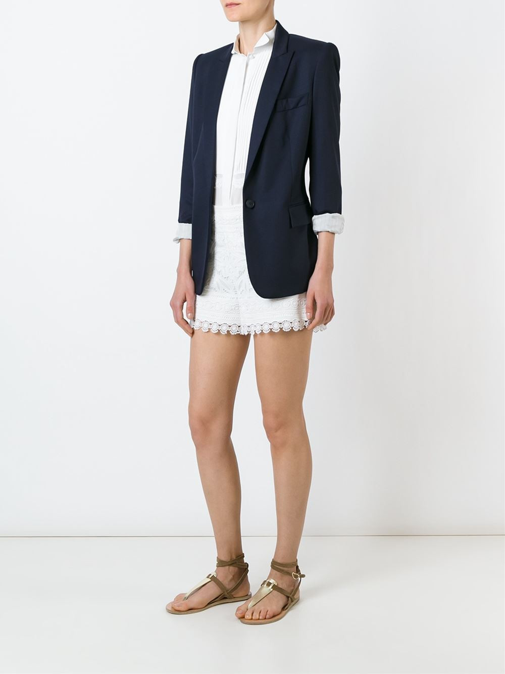 Tory Burch macramé lace shorts $293.12