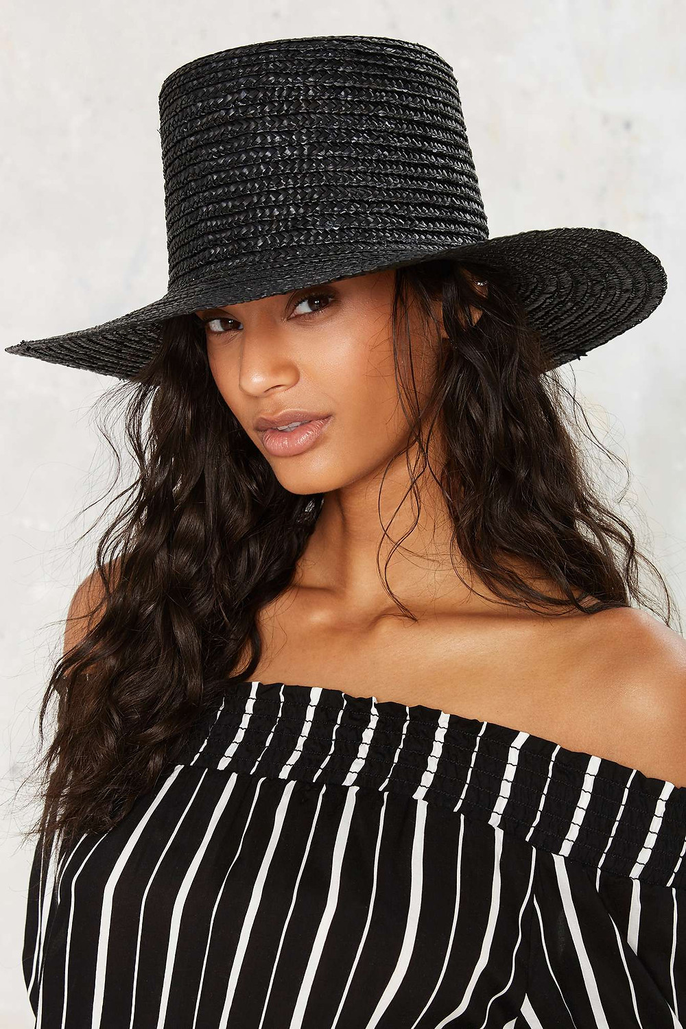 Lack of Color The Valley Straw Boater Hat $79