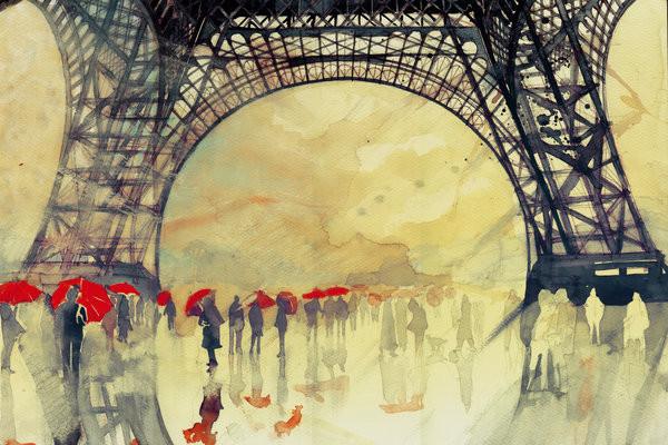 Winter in Paris by Takmaj $50.05