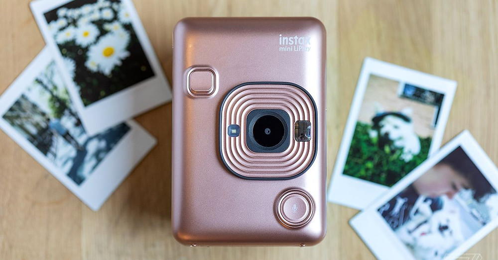 Fujifilm's Instax Mini LiPlay brings audio to the instant camera experience - Read More from The Verge