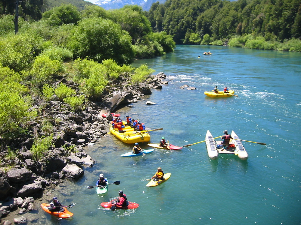 When travelling to Patagonia visit Futaleufú, Chile-Great place for whitewater rafting