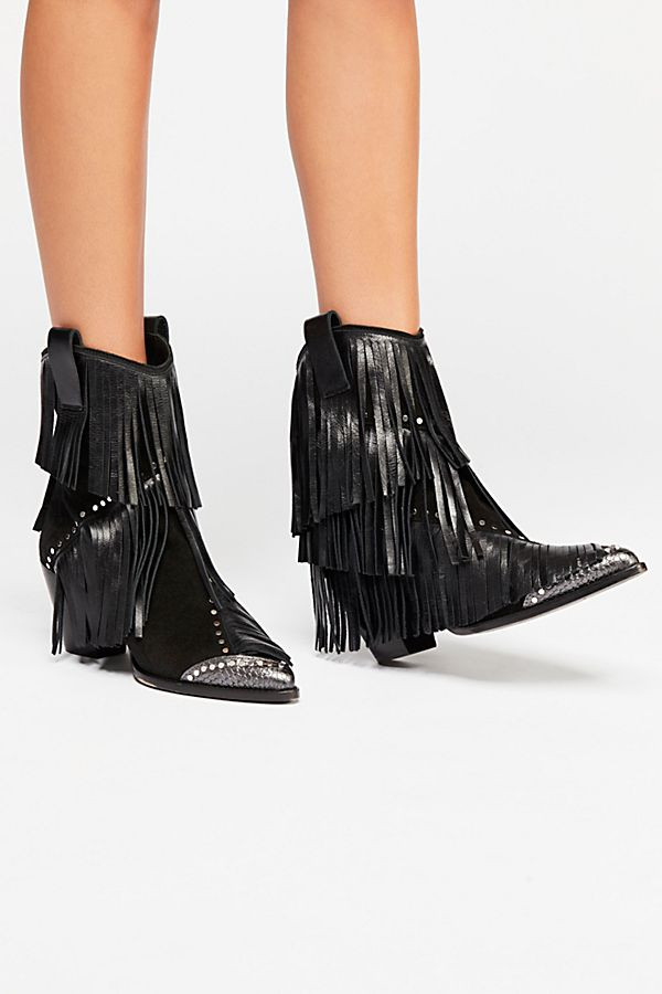 Zadig & Voltaire On The Fringe Western Boot $528
