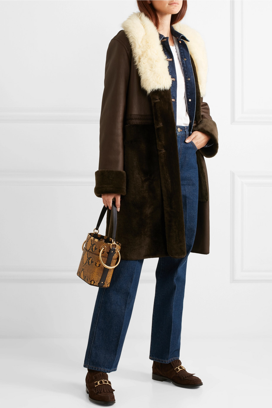 Tod's Chain-trimmed fringed suede ankle boots $795