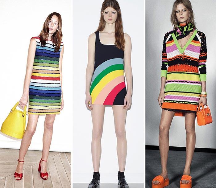 Rainbow Inspired Resort 2016 collections (shop rainbow inspired look from Sonia Rykiel)
